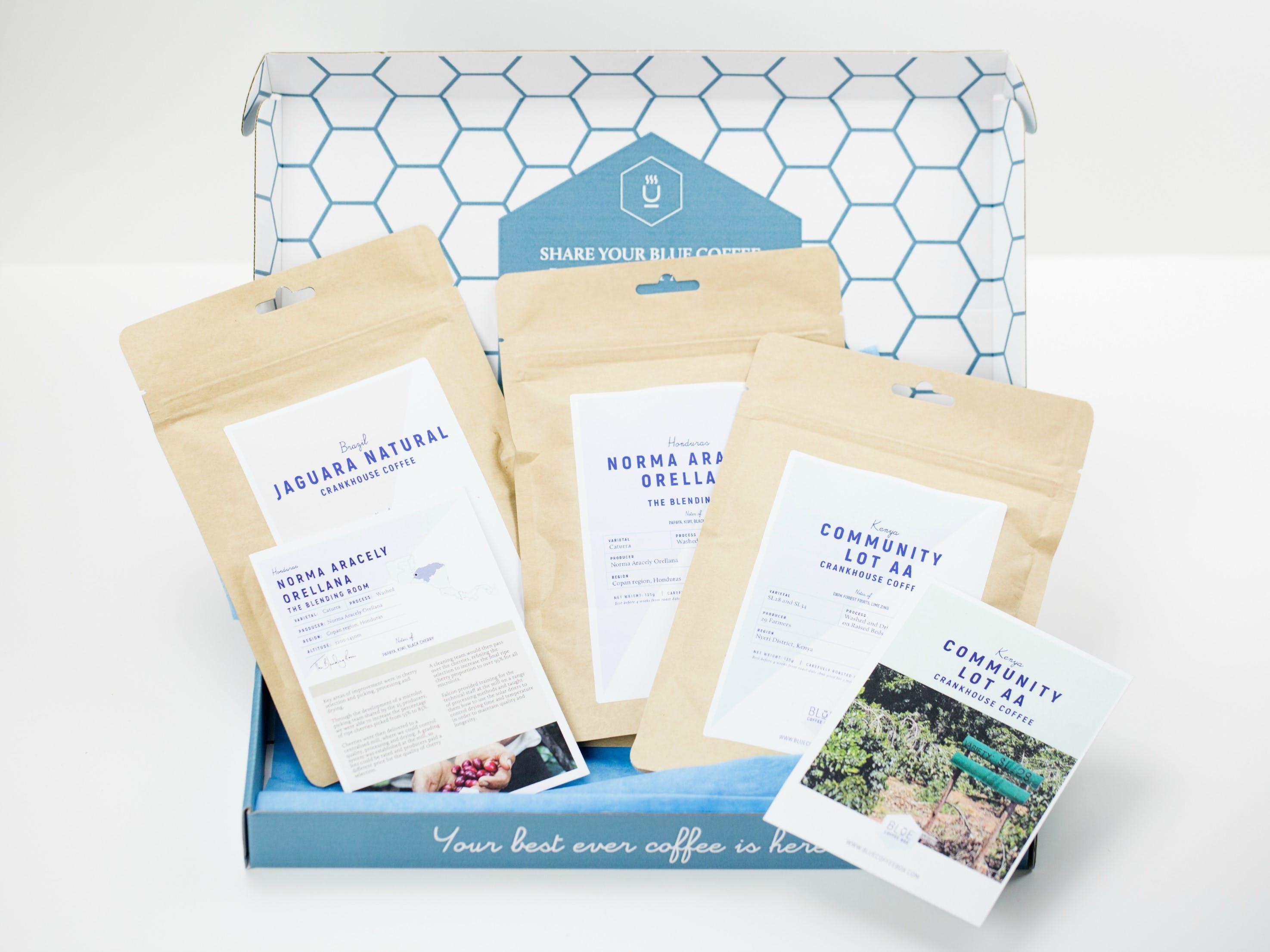 Blue Coffee Box Subscription Box