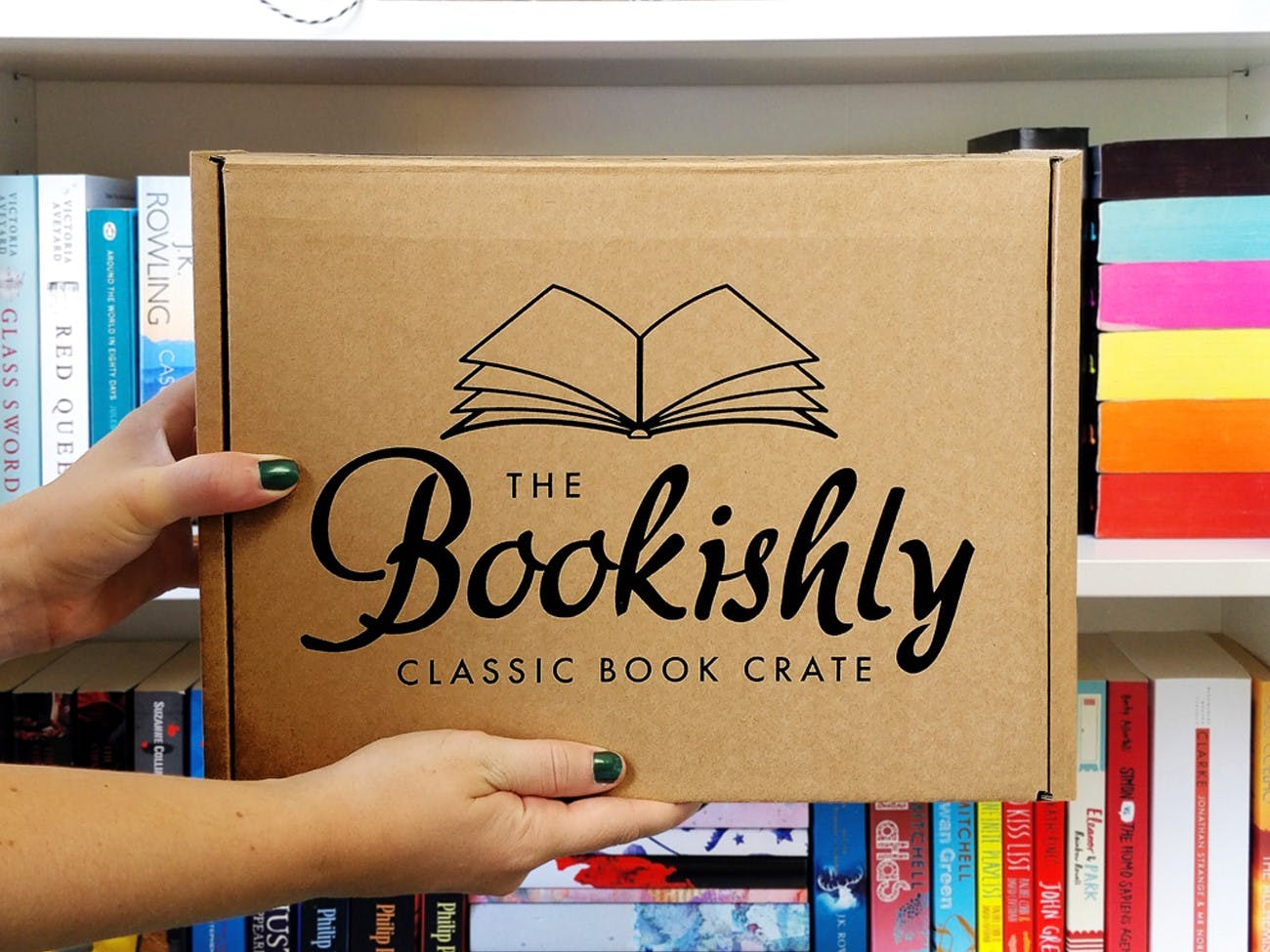 Classic Book Crate - Bookishly