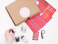 The Glittery Hands Mini Craft Box