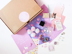 The Glittery Hands Craft Box