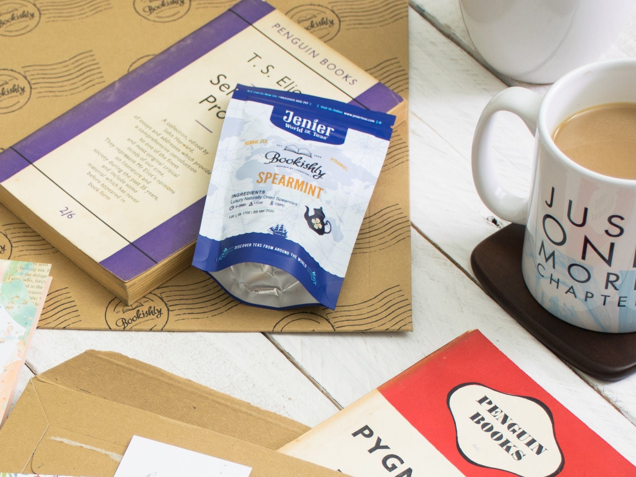 The Bookishly Tea and Vintage Book Club