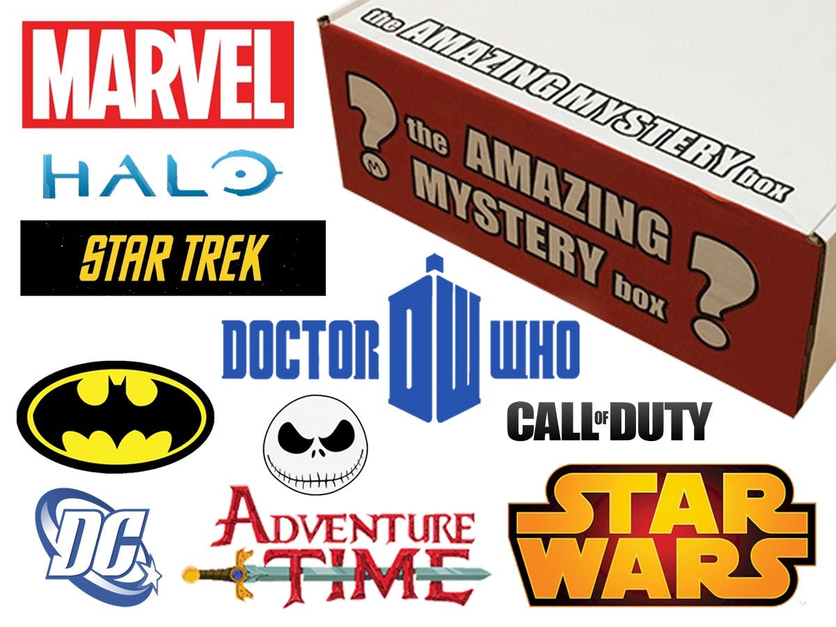 The Amazing Mystery Box - Adult & Teen Collectors
