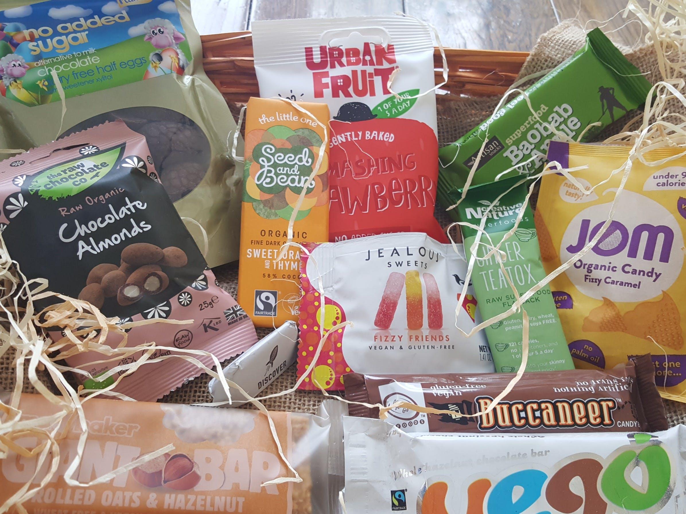 Velocity Vegan Sweet Selection Box
