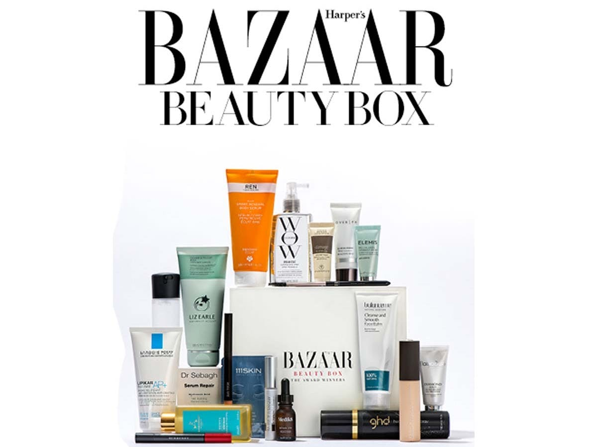 Harper's Bazaar 'Award Winners' Beauty Box