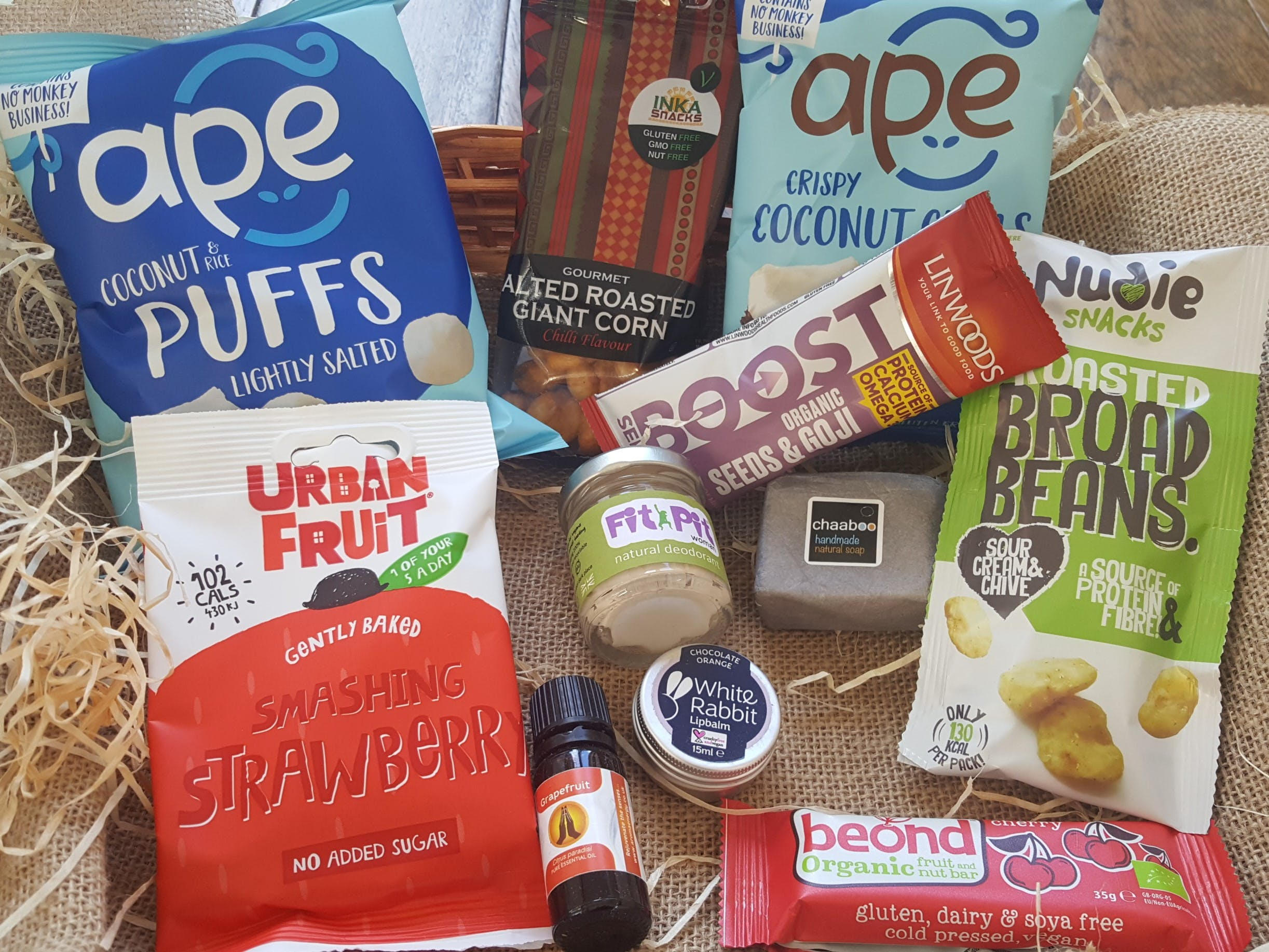 Velocity Vegan Wellbeing Selection Box