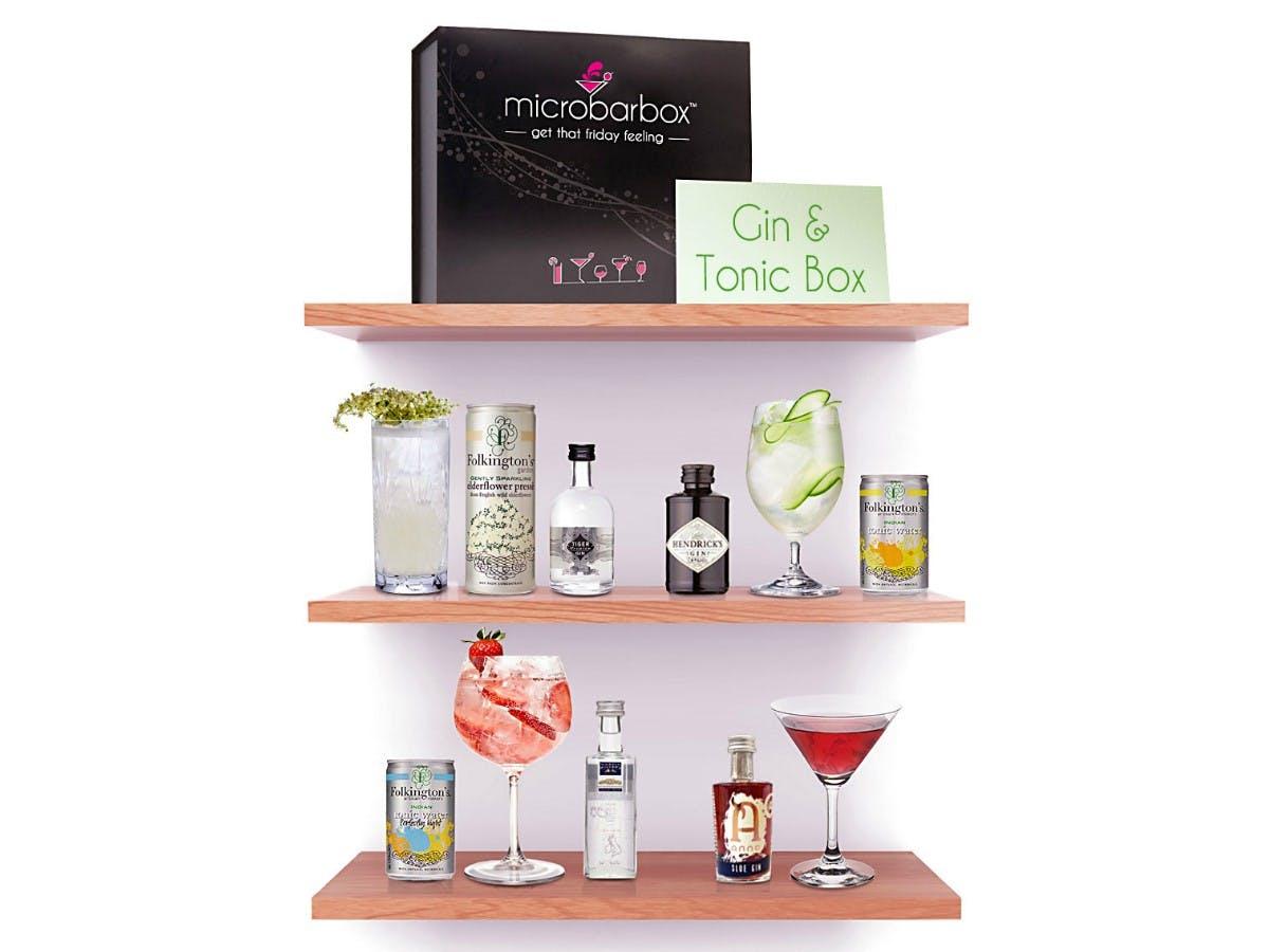 MicroBarBox - Gin & Tonic Gift Box