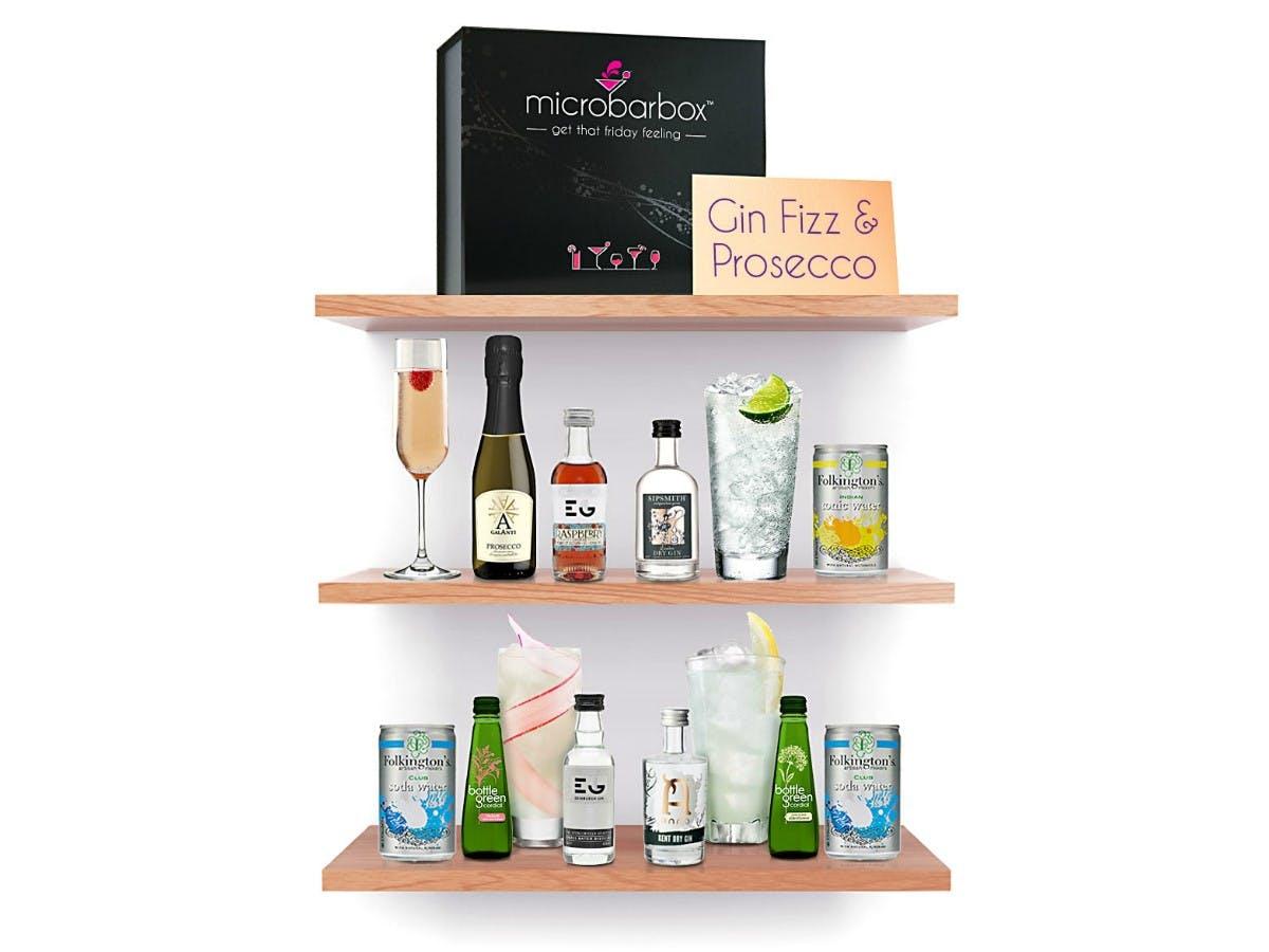 MicroBarBox - Gin Fizz & Prosecco Gift Box