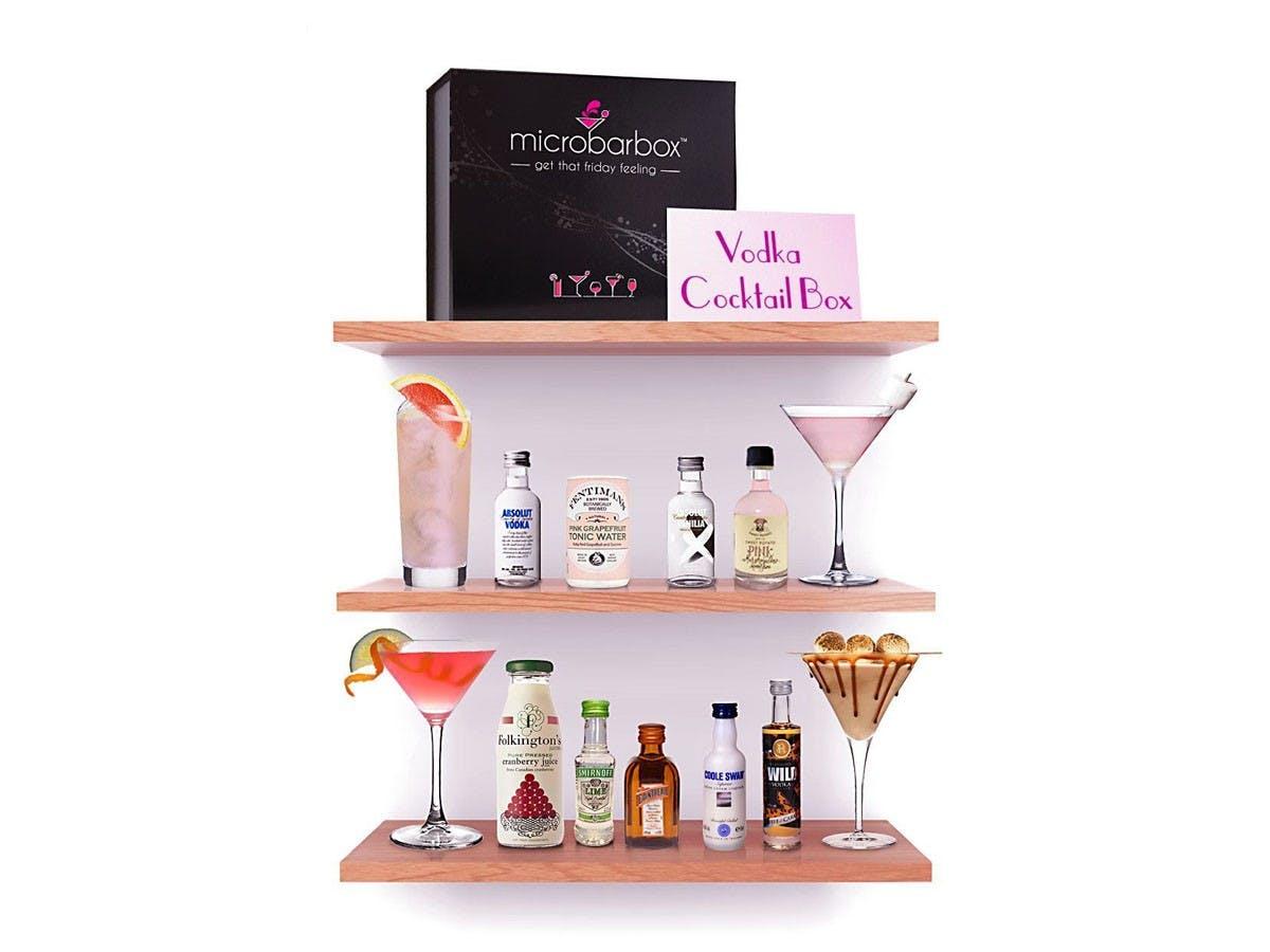 MicroBarBox - Vodka Cocktail Box