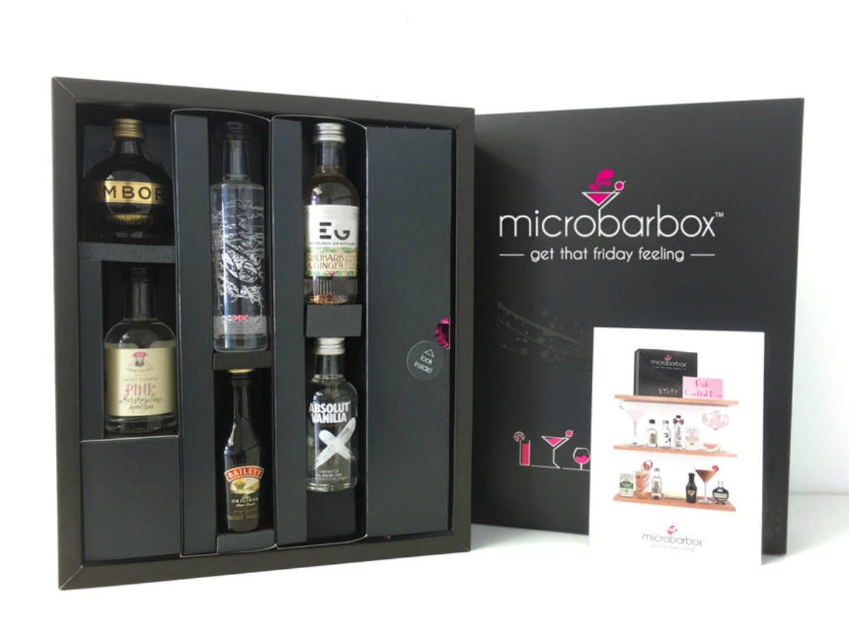 MicroBarBox - Pink Cocktail Box
