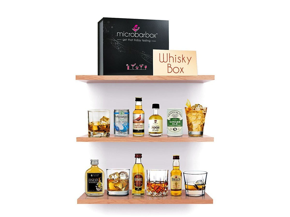 MicroBarBox - Great British Whisky Gift Box