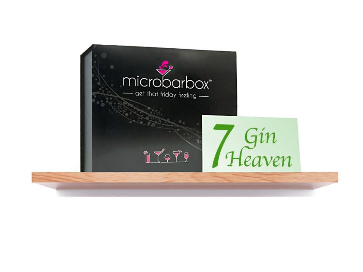 MicroBarBox - 7 Gin Heaven Gift Box