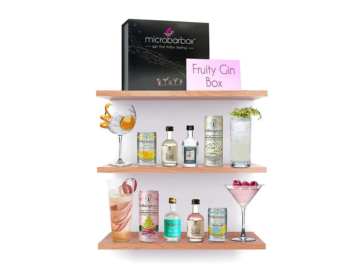 MicroBarBox - Fruity Gin Gift Box