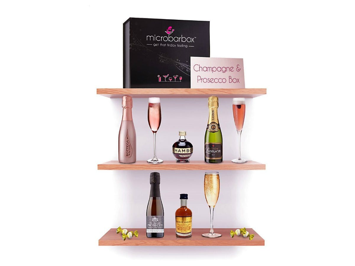Champagne and Prosecco Box - MicroBarBox