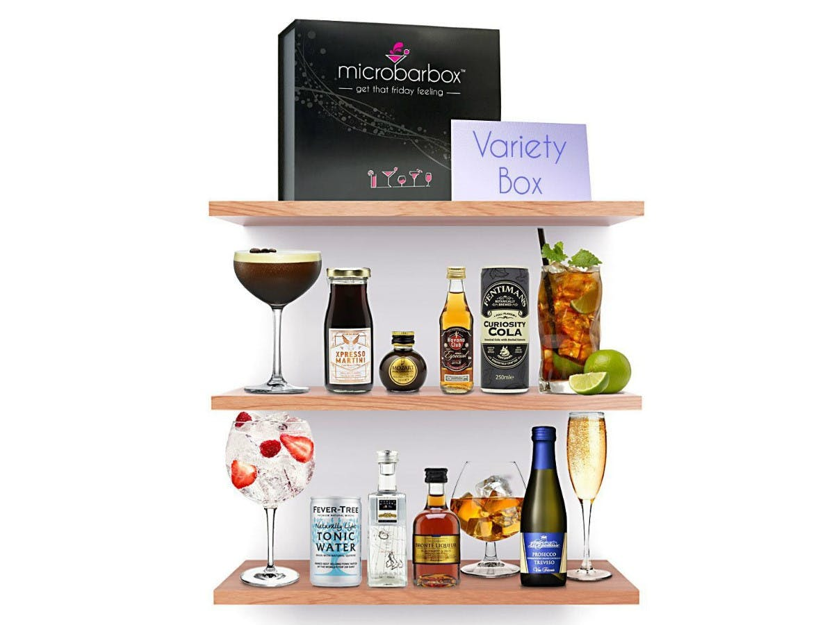 Variety Cocktail Box - MicroBarBox