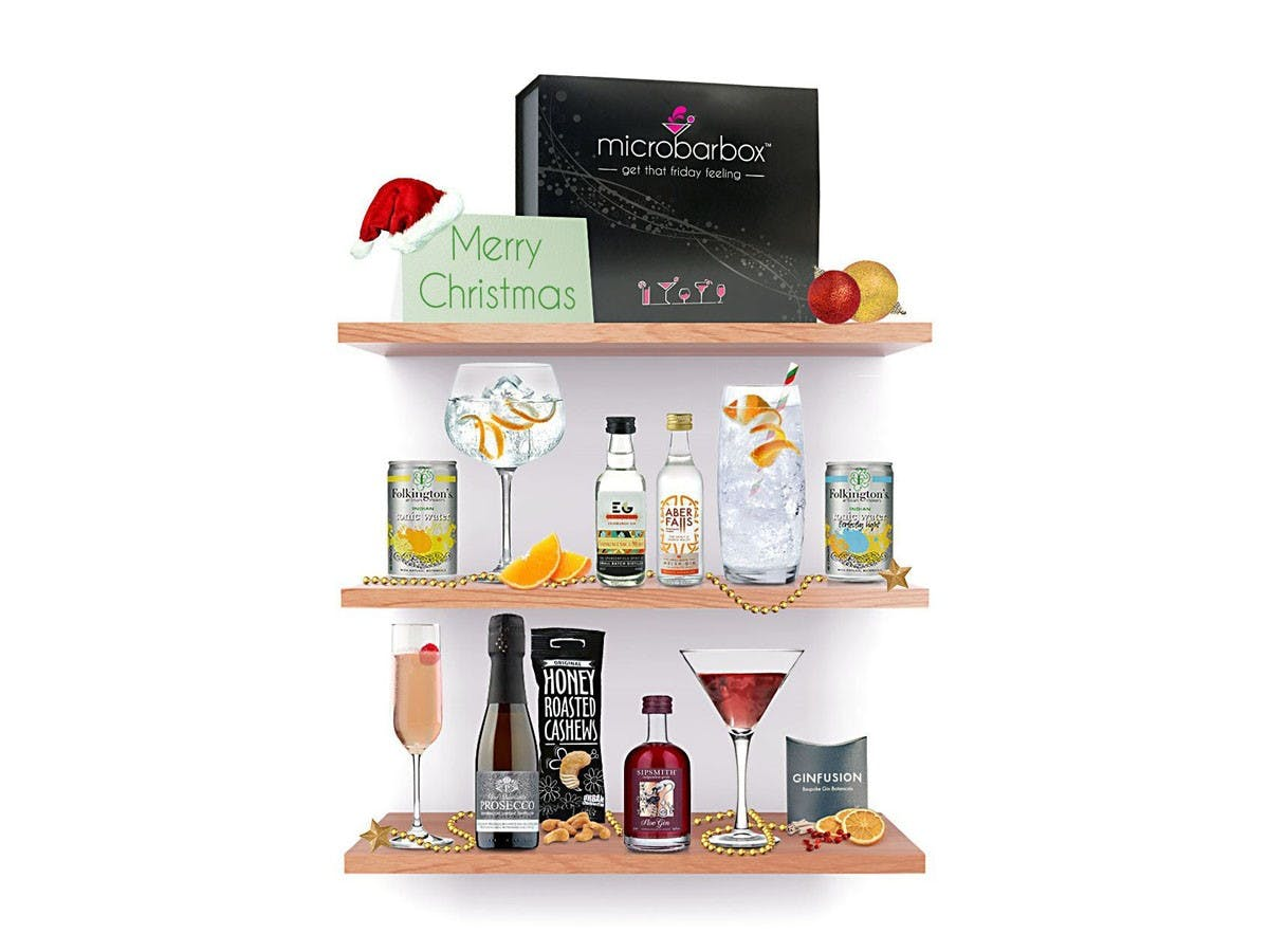 Christmas Gin Box - MicroBarBox