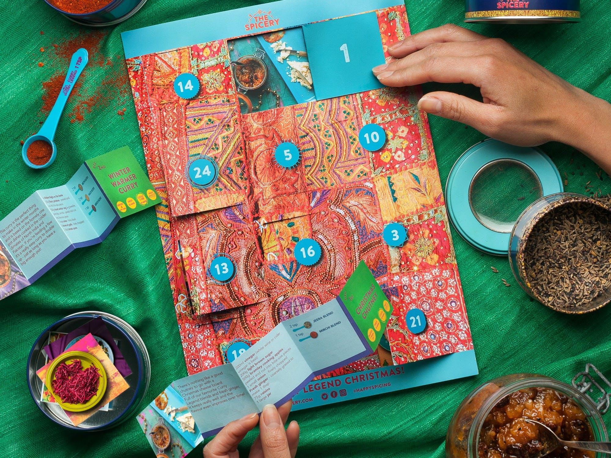 Curry Legend Advent Calendar - The Spicery