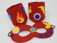 I DID IT! Design Your Own Superhero Mask & Cuffs Kit