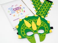 I DID IT! - Create Your Own Dinosaur Mask & Cuffs Box