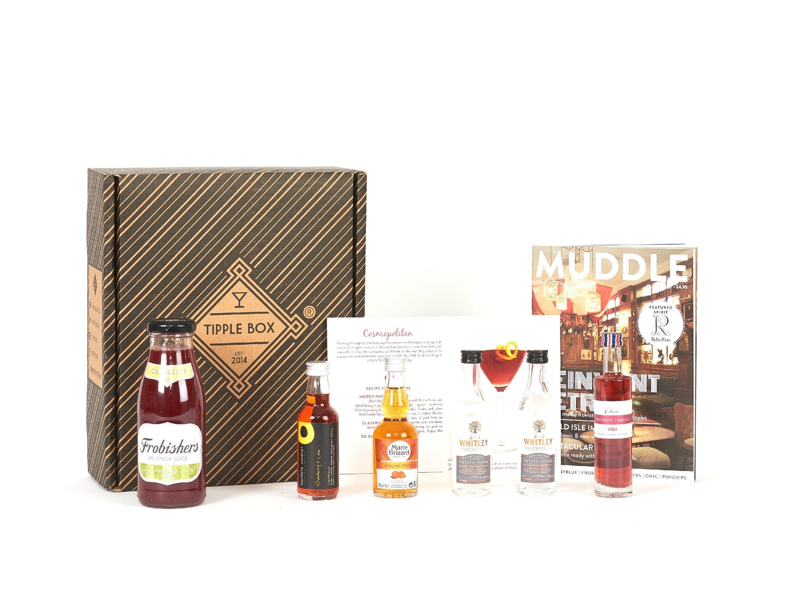 Tipple Box - Cosmopolitan Cocktail Set