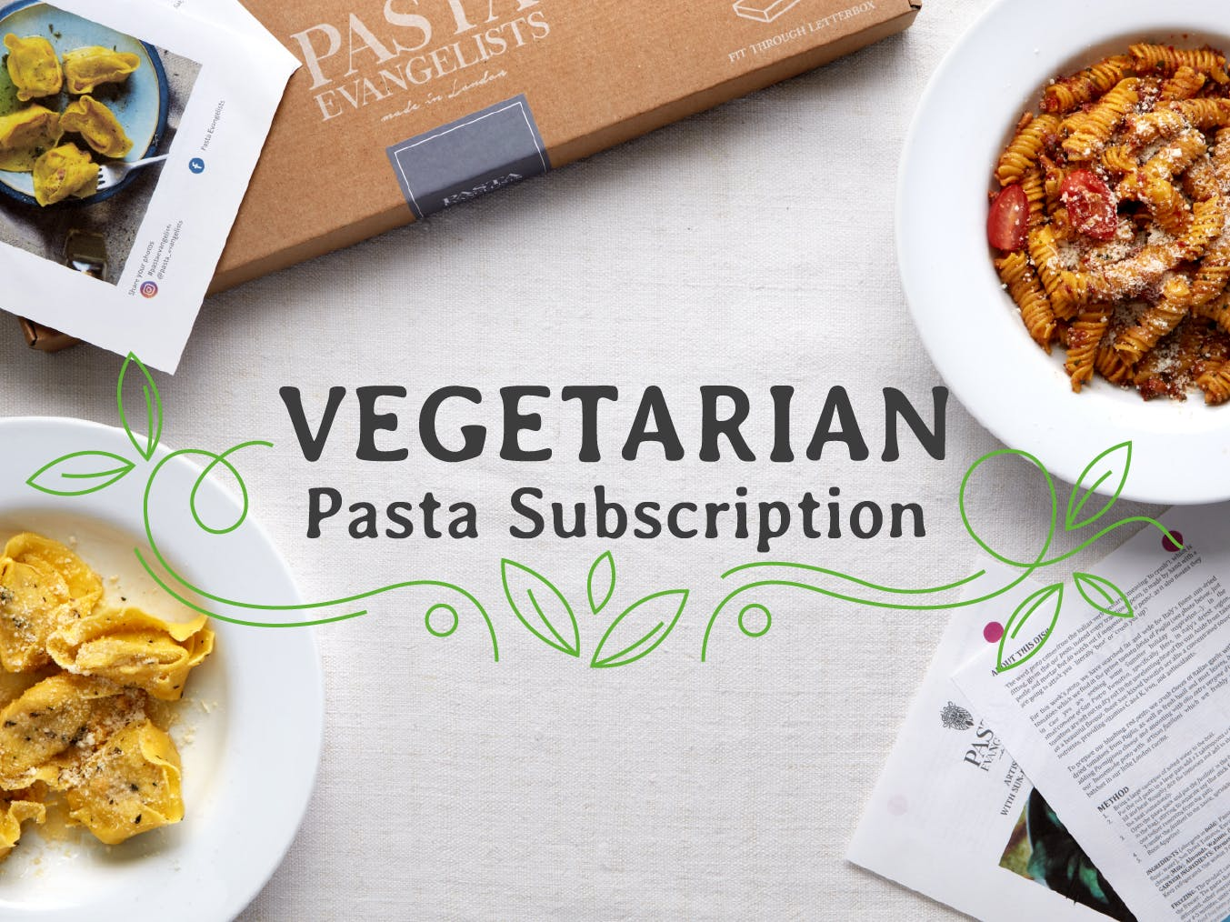 Vegetarian Box - Pasta Evangelists