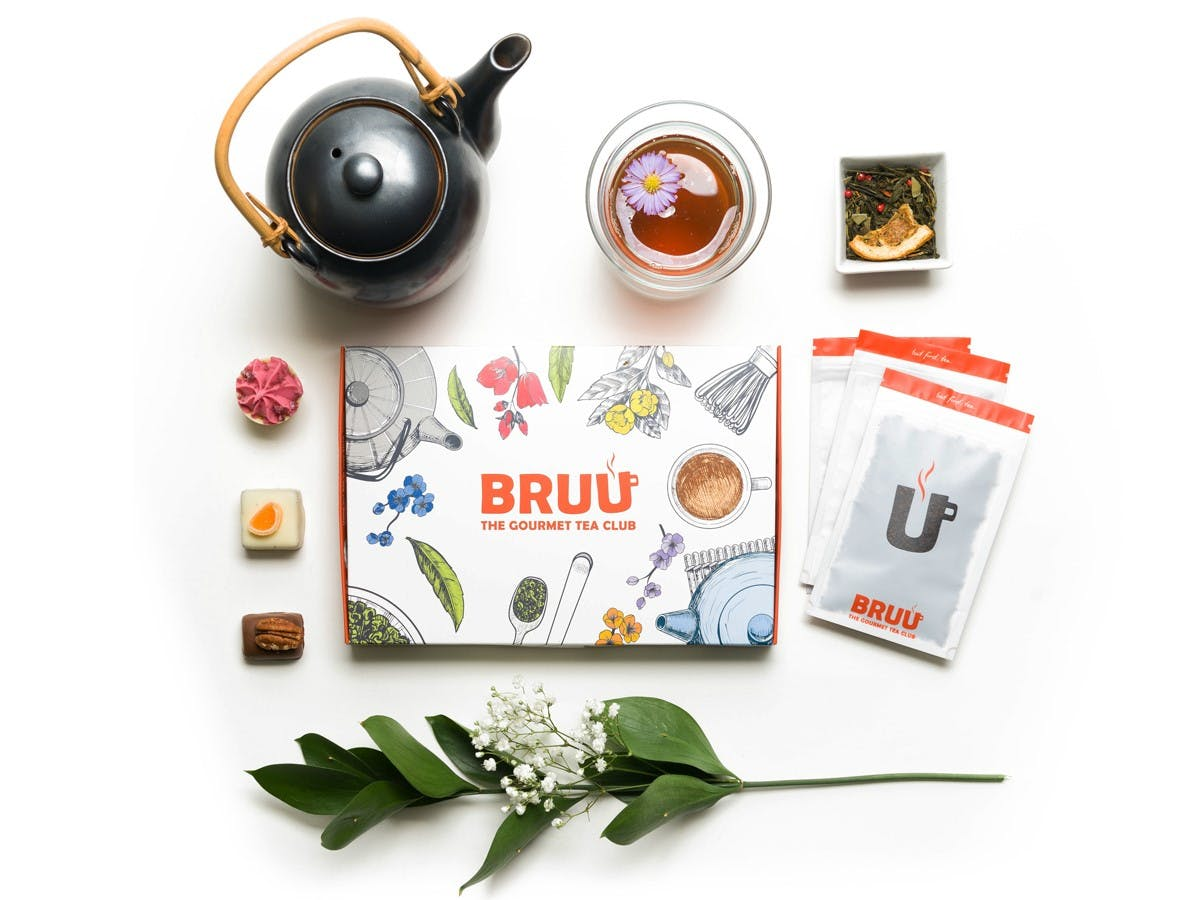 BRUU Gourmet Tea Club Box