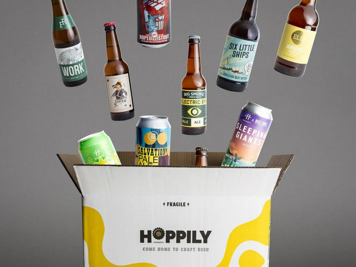 Vegan Craft Beer Box - Hoppily