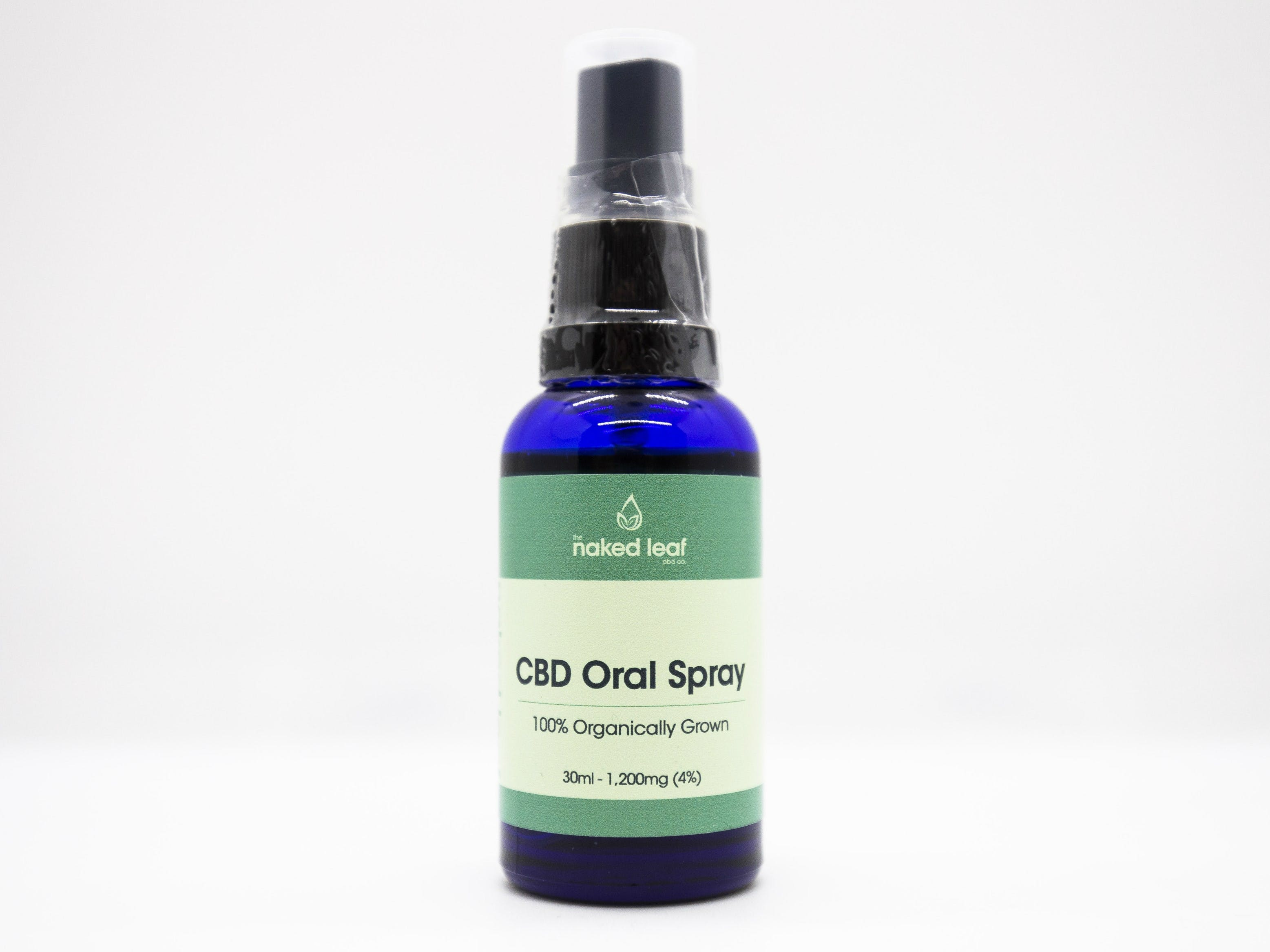 Naked Leaf CBD - Oral Spray Box