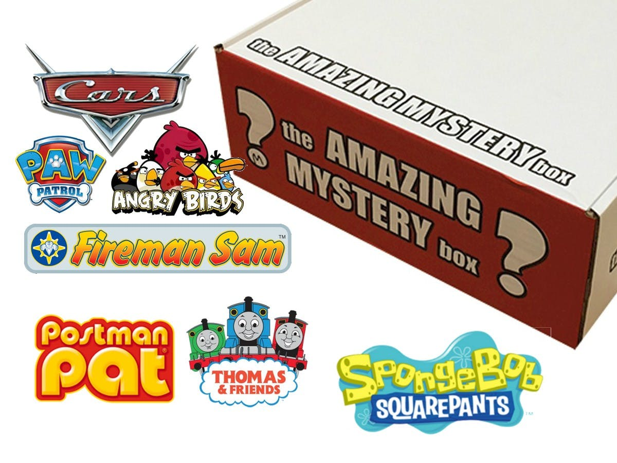 The Amazing Mystery Box - For Boys