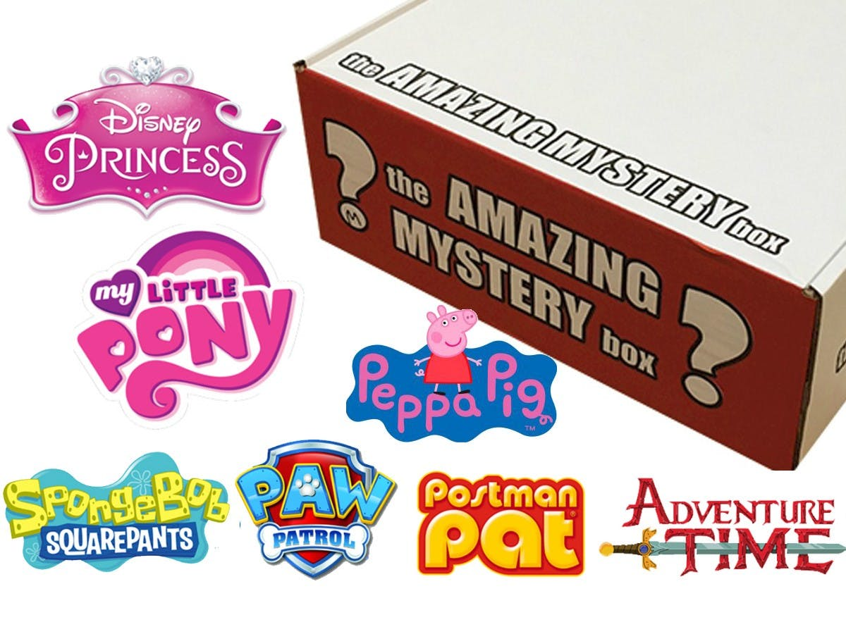 The Amazing Mystery Box - For Girls