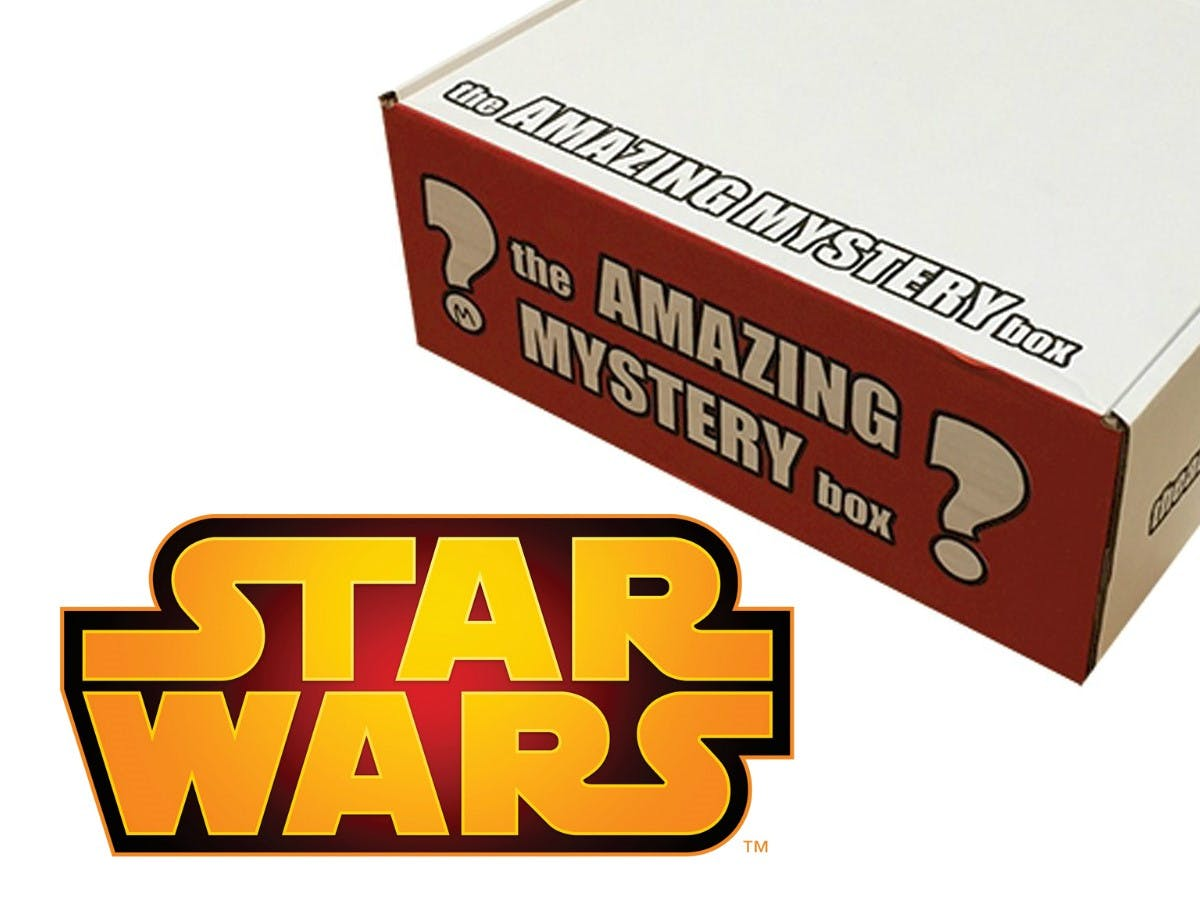 The Amazing Mystery Box - Stars Wars 'Falcon'