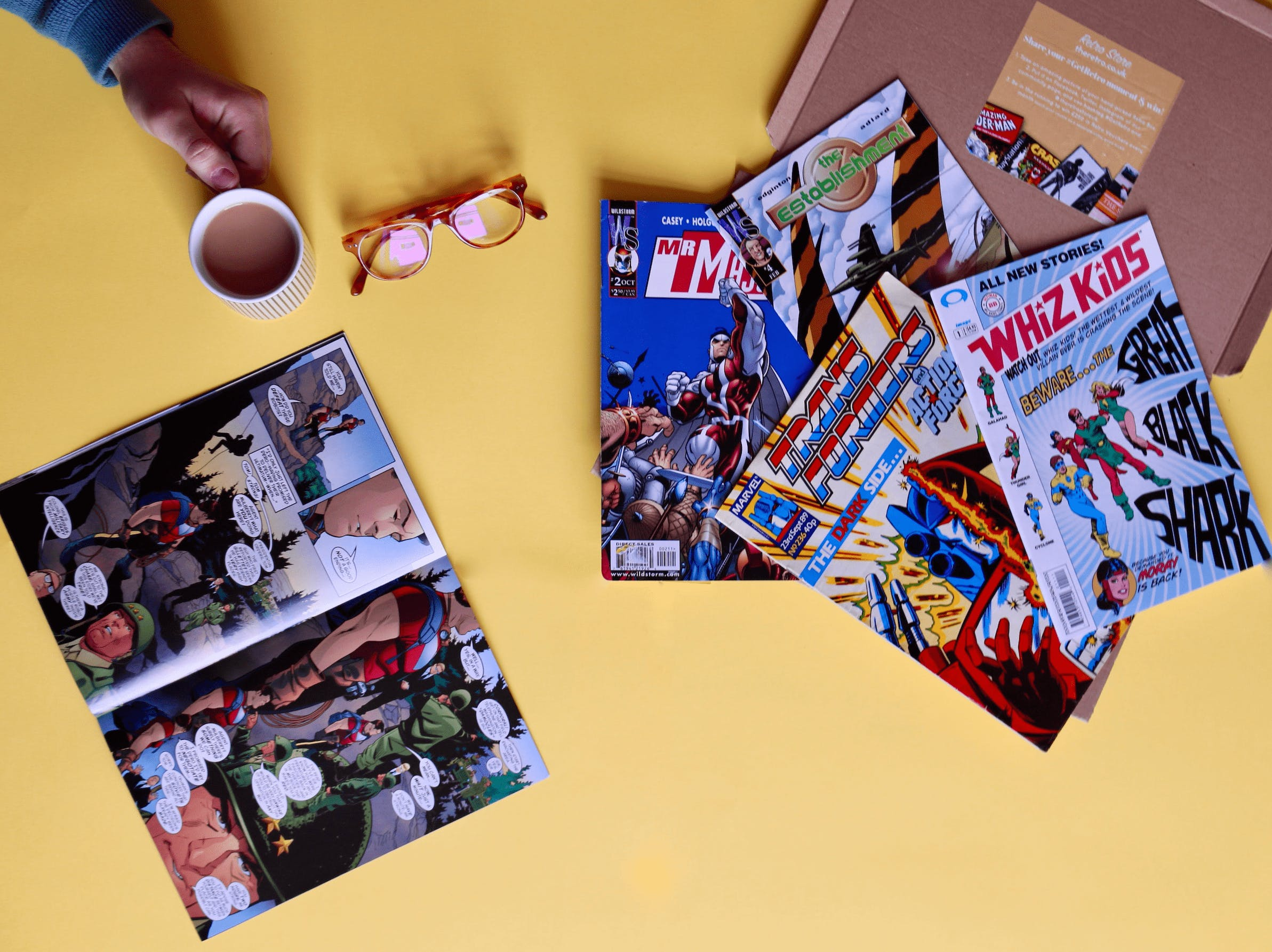 The Retro Store Monthly Comic Club