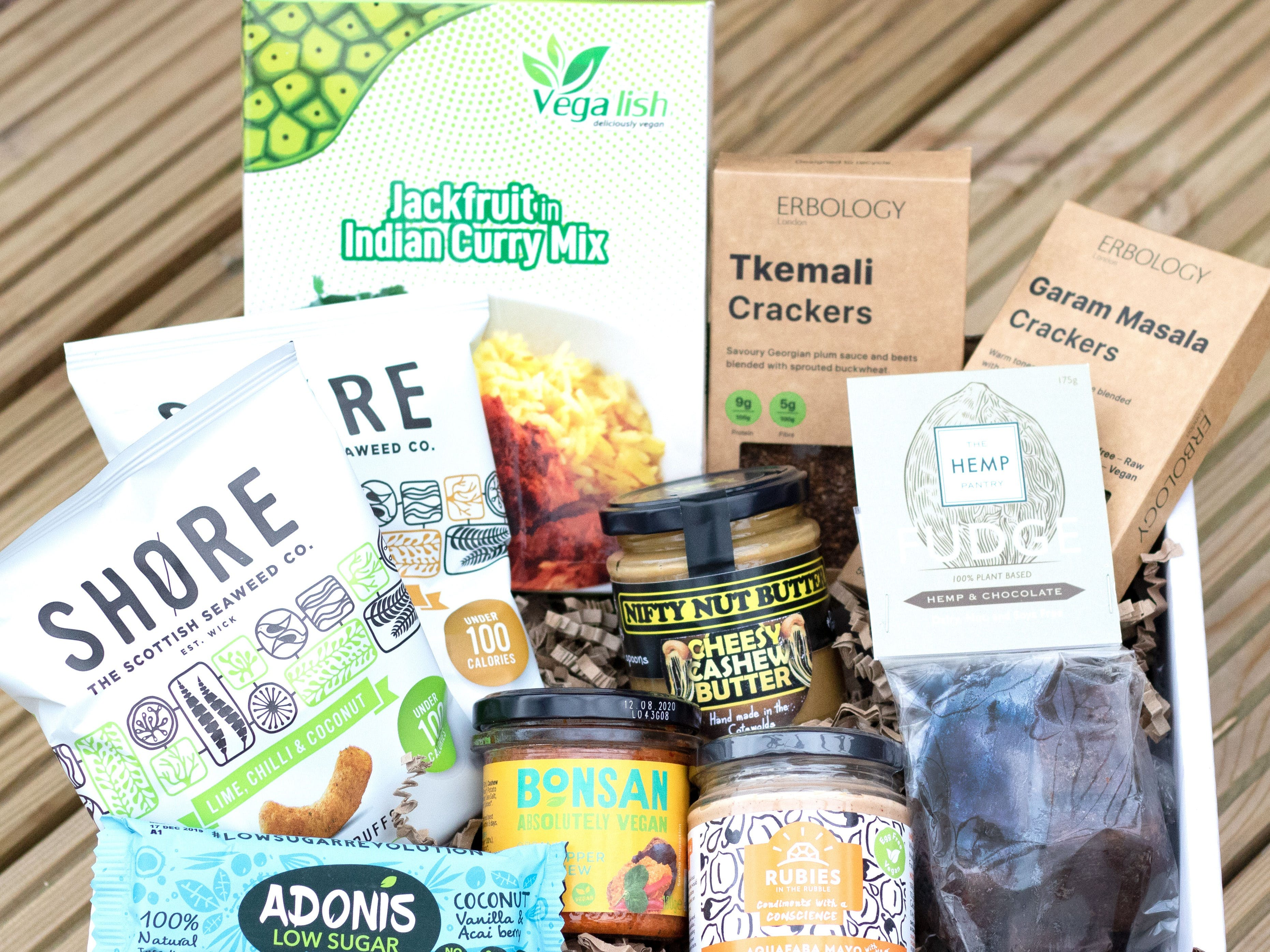 The Vegan Larder - Deluxe and Classic Box