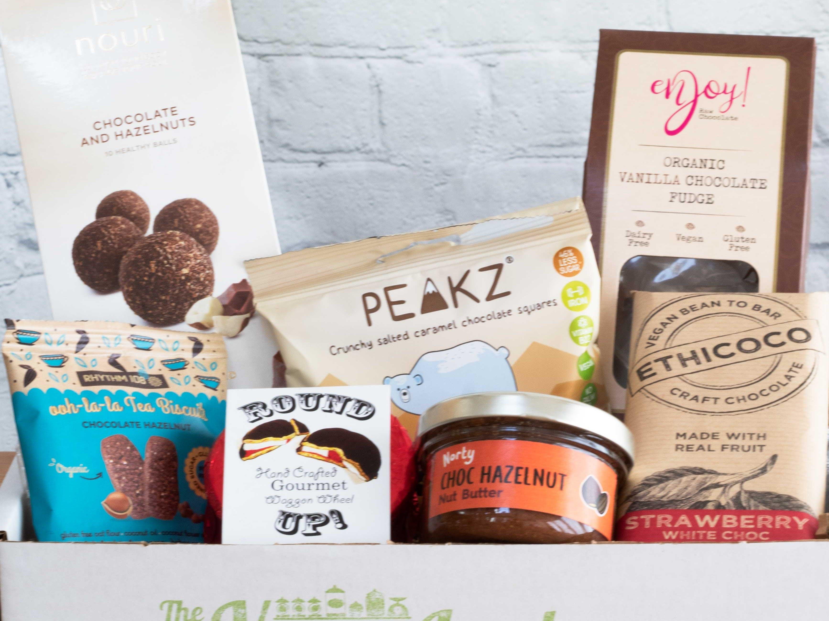Gourmet Vegan Chocolate Box - The Vegan Larder