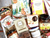 Deluxe Vegan Larder Christmas Gift Box - Gluten Free Available