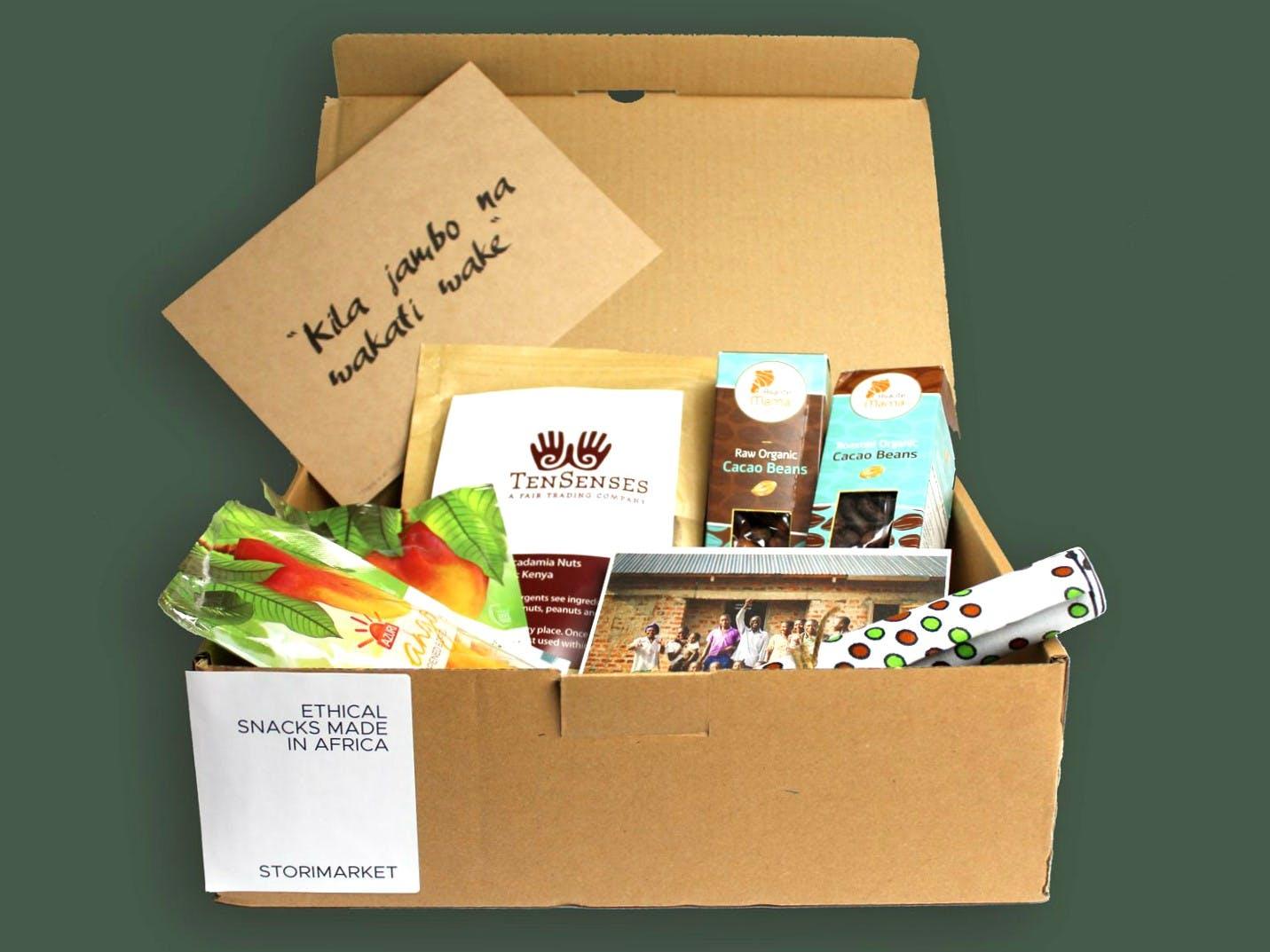 Storimarket Ethical Snack Box