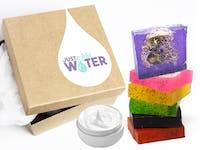 Natural Loofah Soap Box