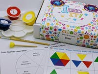 Colour Wheel Painting Kit for Kids