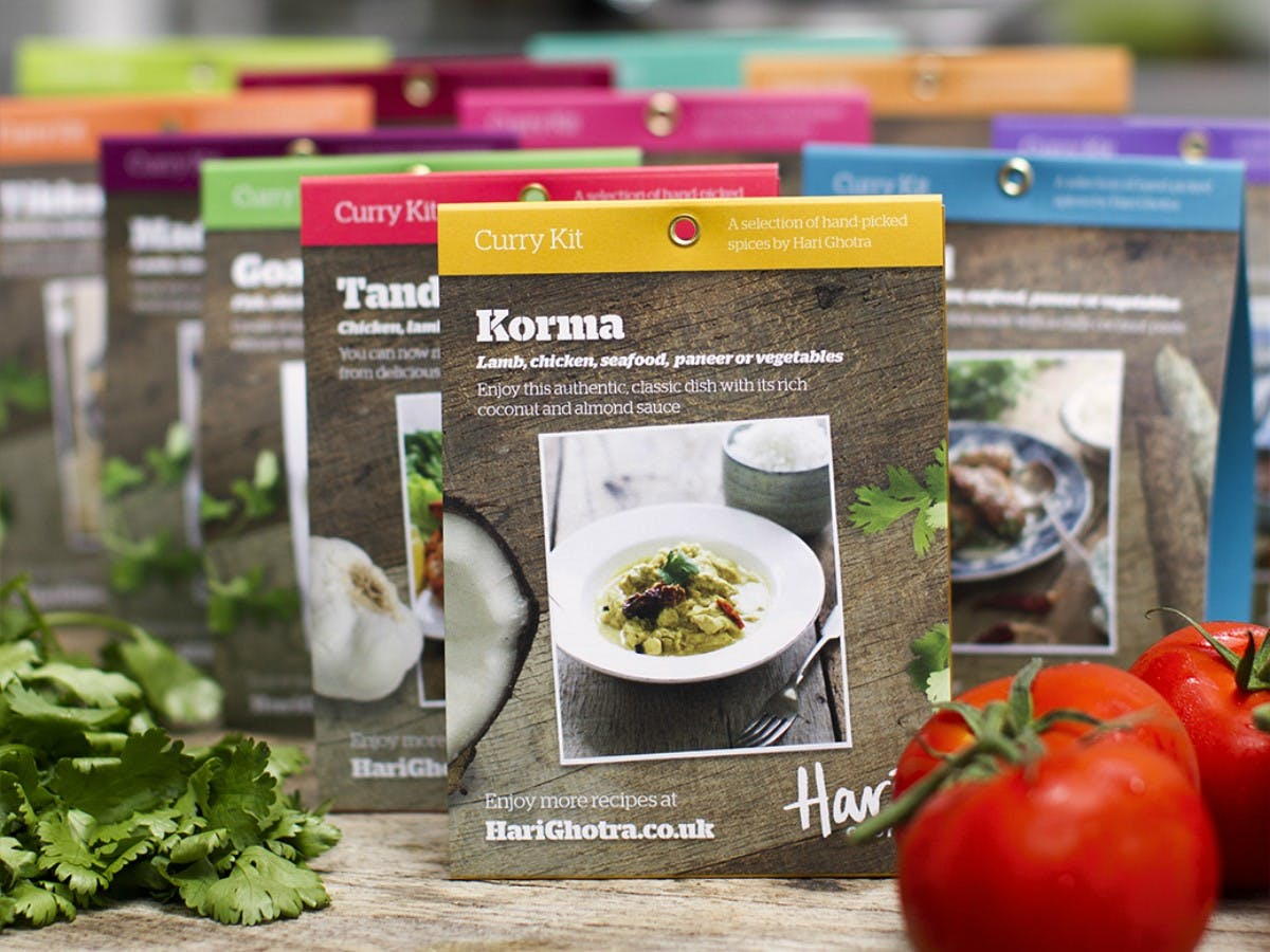 Hari Ghotra Curry Kits Subscription Box