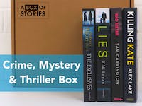 Crime Mystery & Thriller – 4 x Surprise Book Box