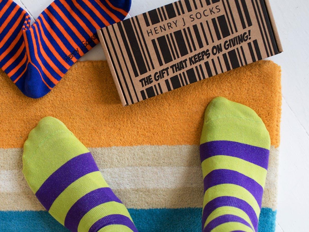 Henry J Socks Box
