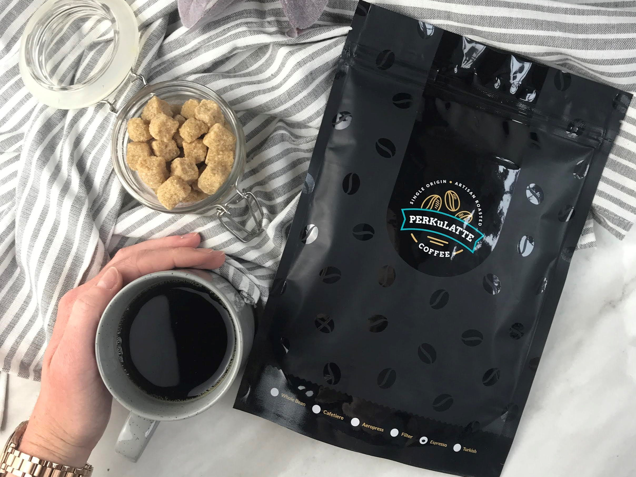 Perkulatte Monthly Coffee Subscription Box